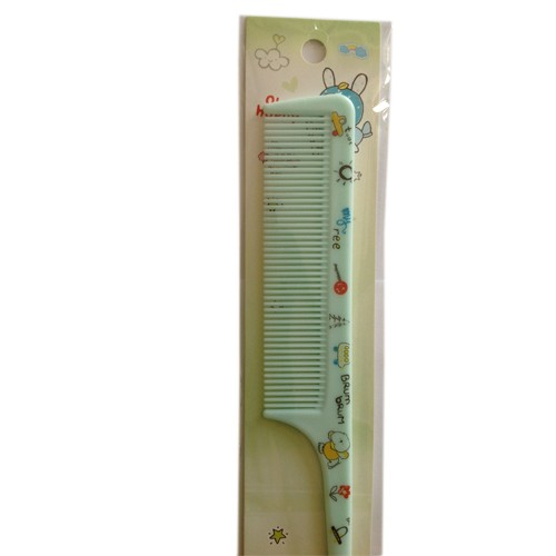 Mix color Rat Tail combs for child -green