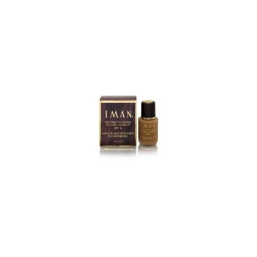 Iman Second to None Oil Free Foundation-Clay 4