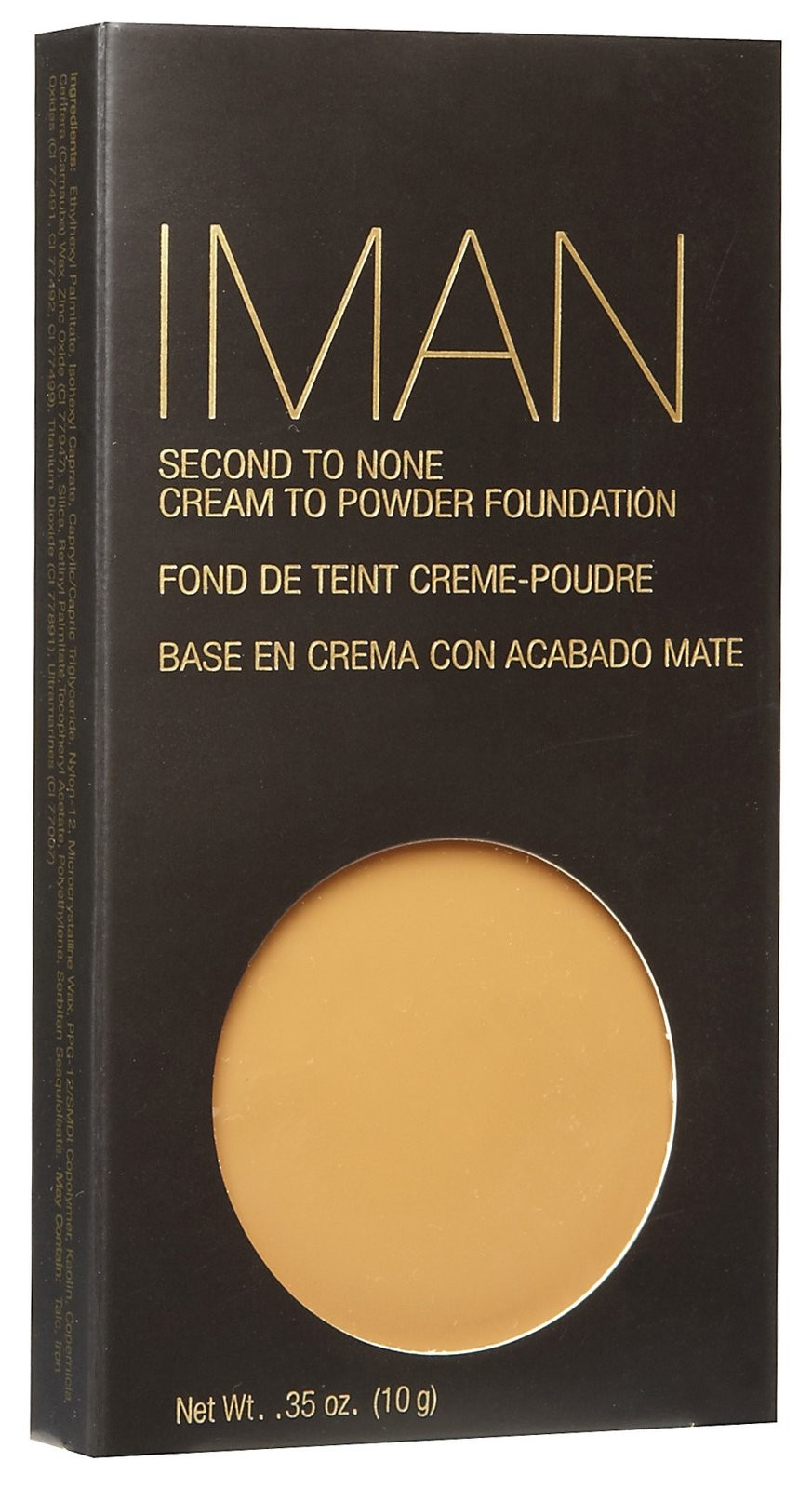 Iman Second To None Cream To Powder sand 1