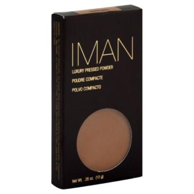 Iman Luxury Pressed Powder - Earth Deep