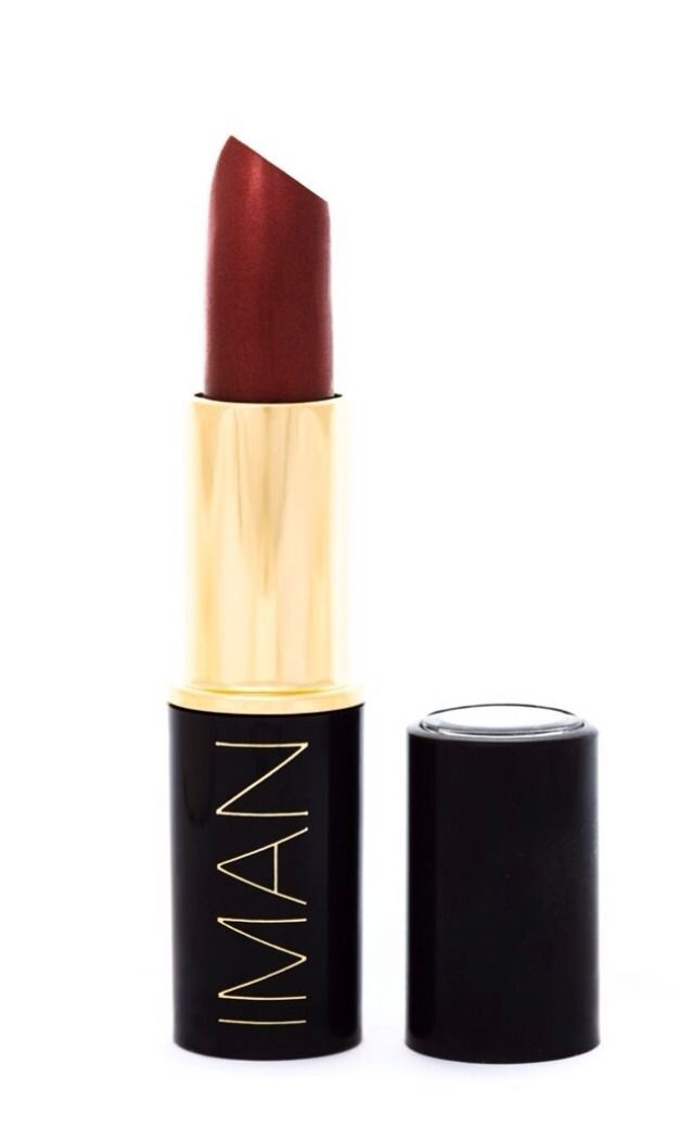 Iman Luxury Moisturizing Lipstick Teak