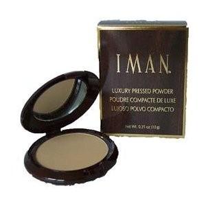 Iman Luxury Pressed Powder - Clay Medium