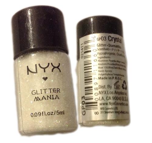 NYX - Glitter Mania Diamatina - Crystal