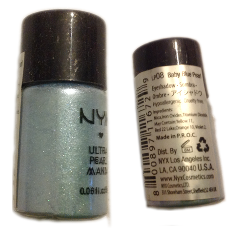 NYX Eyeshadow Loose Ultra Mania Pearl - Baby Blue