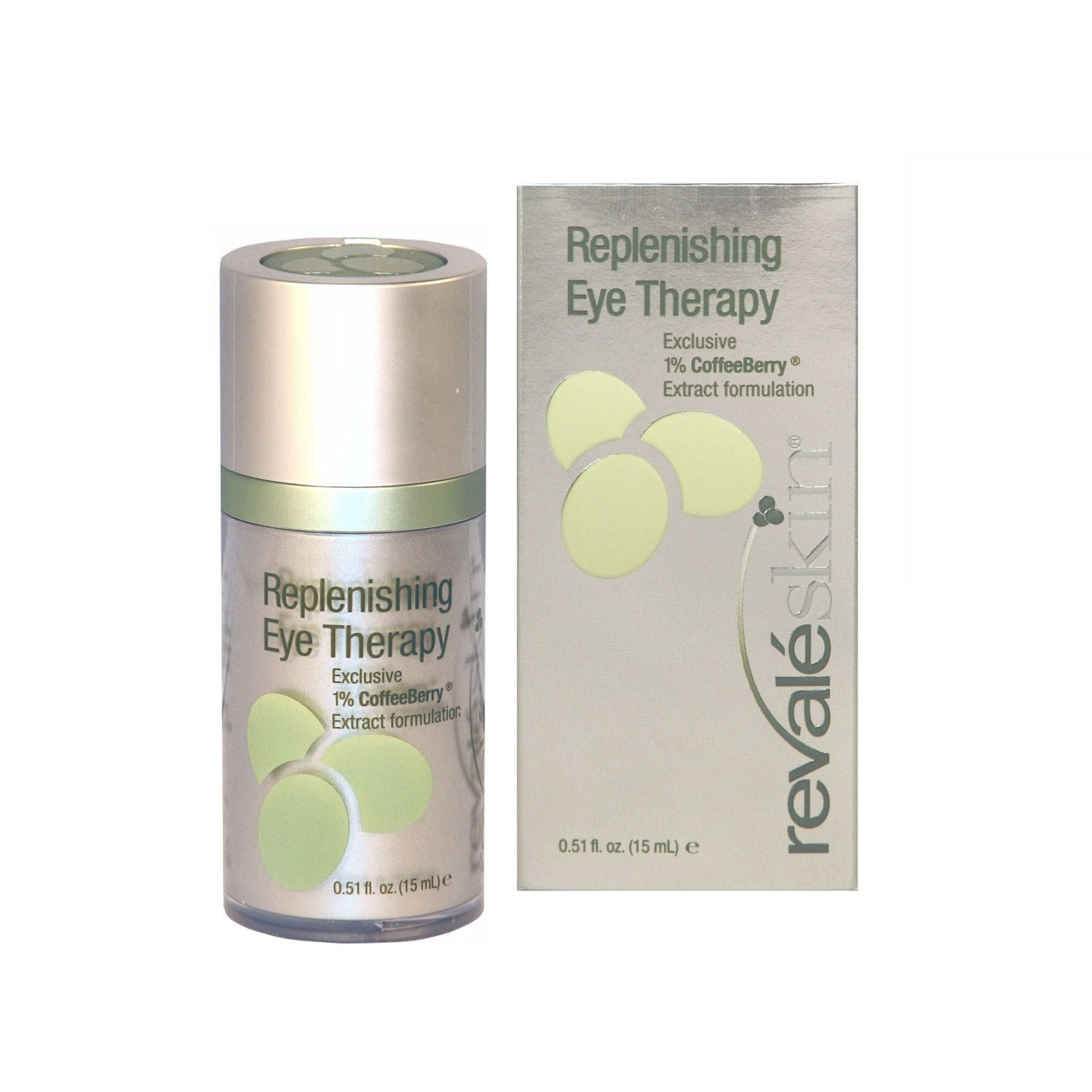 Revaleskin 1% Coffeeberry Extract Formulation Replenishing Eye Therapy, .51-Ounce Pump