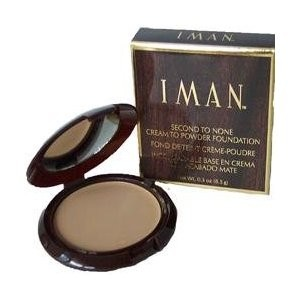 Iman Second To None Powder Foundation - Sand 0