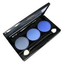 NYX Eyeshadow Trios  Baby Blue/October
